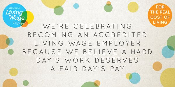 Paying a fair wage, a living wage.